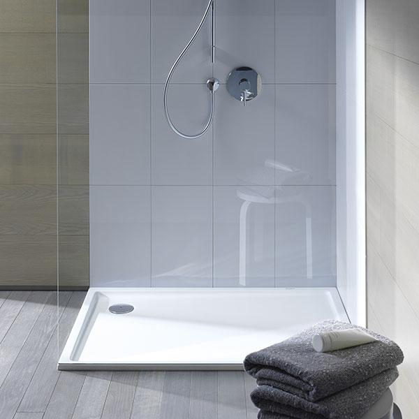 Einbau Dusche