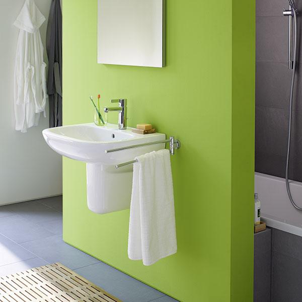 Installation Waschbecken Dusche