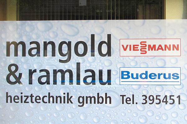 Standort Mangold und Ramlau Heiztechnik GmbH